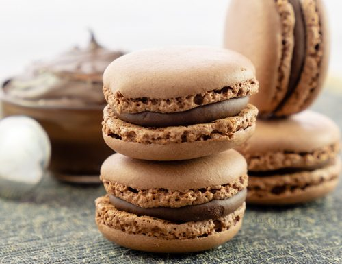 Macaron al cioccolato, ricetta infallibile, dolcetti golosi