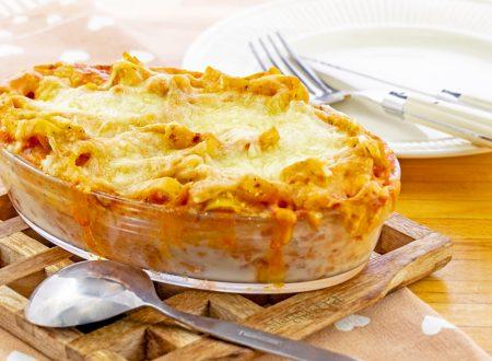 Pasta al forno con ragù di salsiccia, ricetta facile