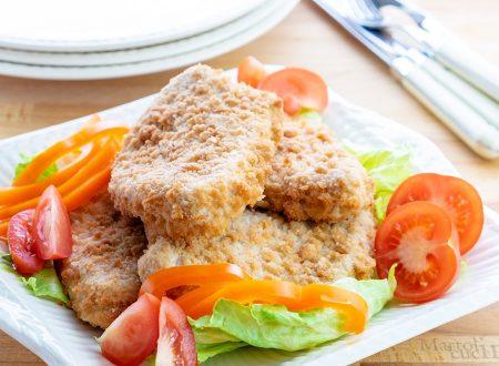 Cotolette di pollo in padella e al forno, doppia ricetta