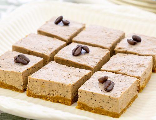 Cheesecake moka, per amanti del caffè!