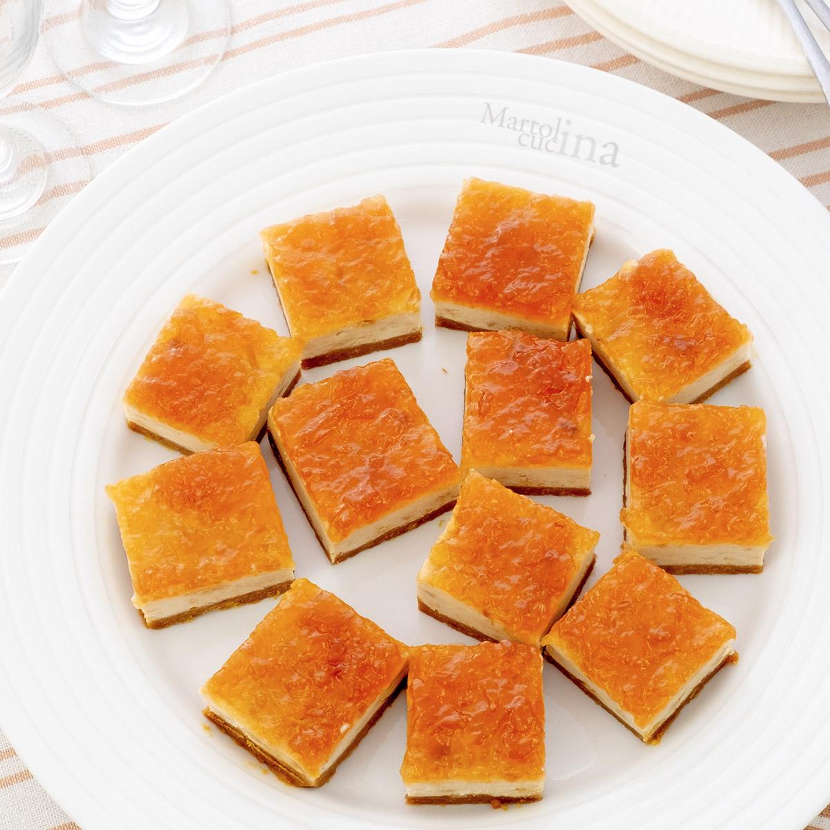 Cheesecake ricotta marmellata