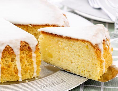 Pan di limone, si frulla tutto insieme!