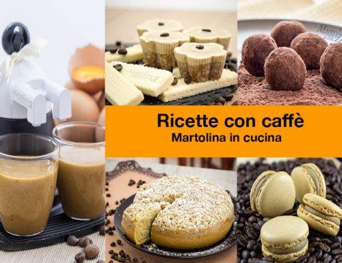 Ricette con caffè, le più facili e golose!!!