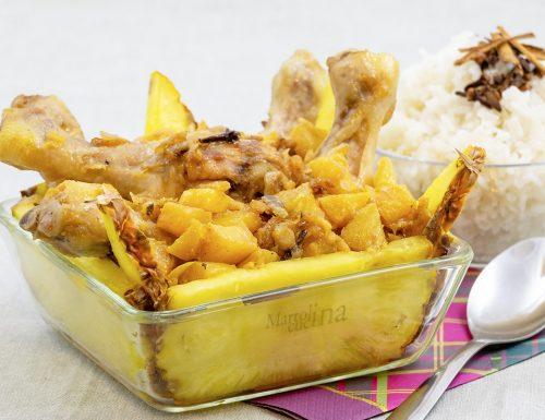 Pollo con ananas, ricetta secondo facile e goloso