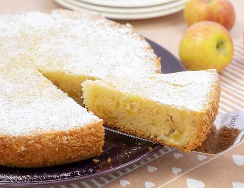 Torta di mele 9 cucchiai, dolce facilissimo senza burro