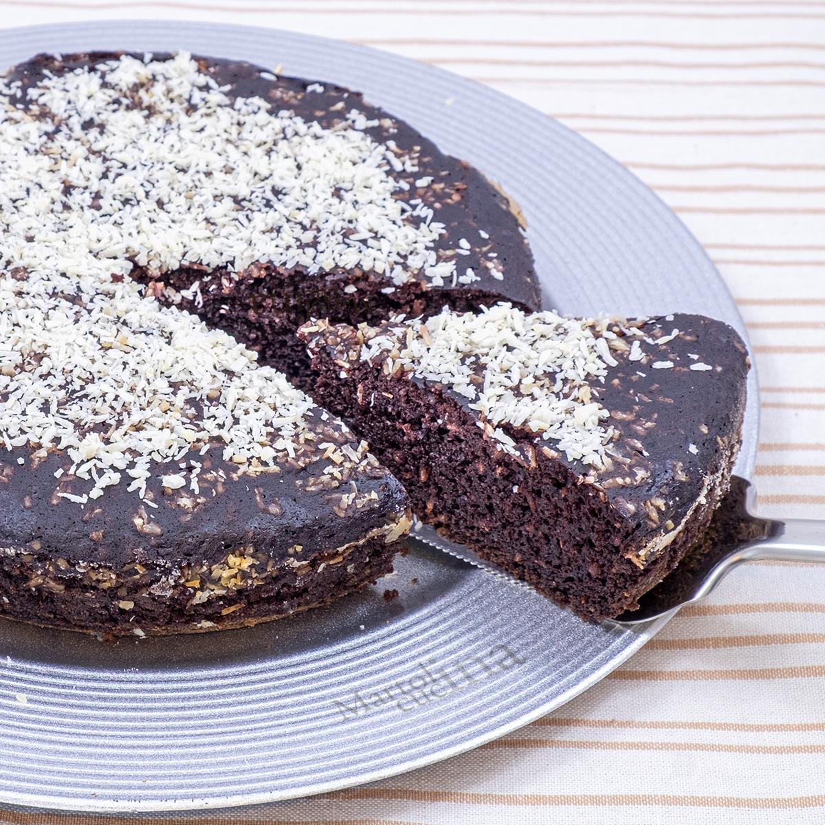 Torta geniale cocco e cacao