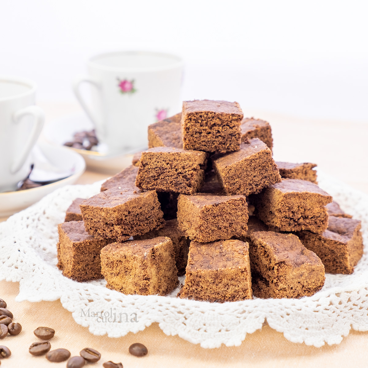 Biscotti morbidi cacao e caffè