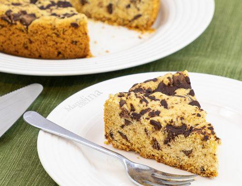 Pandolce al cioccolato fondente, senza lievitazione e facilissimo!