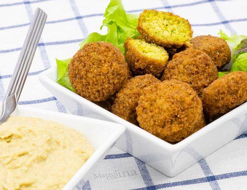 Falafel di ceci, crocchette vegetariane, fritte o in forno