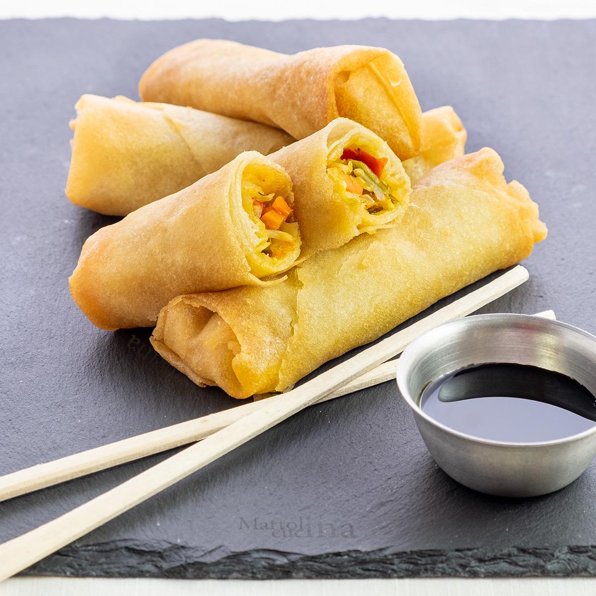 Ricetta Involtini Primavera Con Carne.Involtini Primavera Ricetta Facile Cucina Cinese