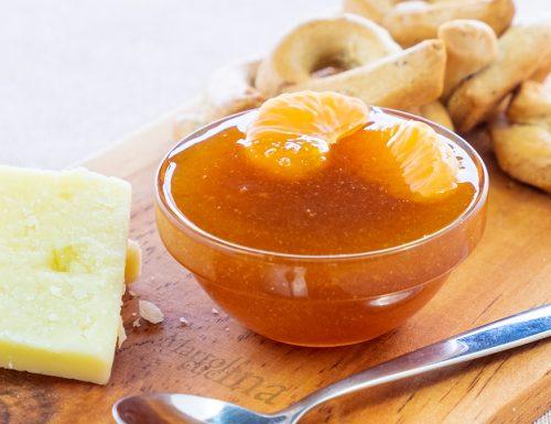 Chutney di mandarini, con i formaggi e i bolliti è divino!