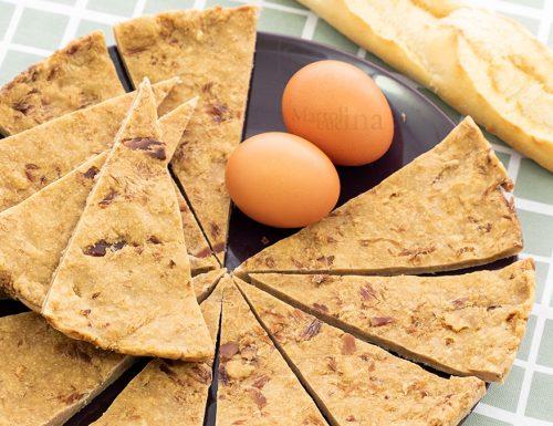 Frittata con pane raffermo, ricetta economica e facilissima