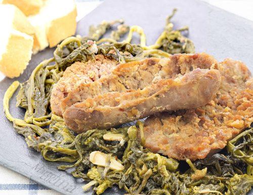 Salsiccia e friarelli, ricetta napoletana