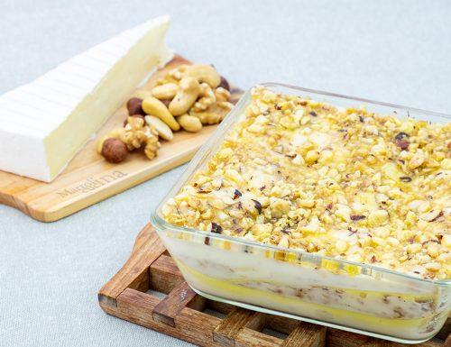 Lasagne con brie e frutta secca, le più buone del mondo!