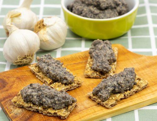 Patè di funghi, ricetta facile