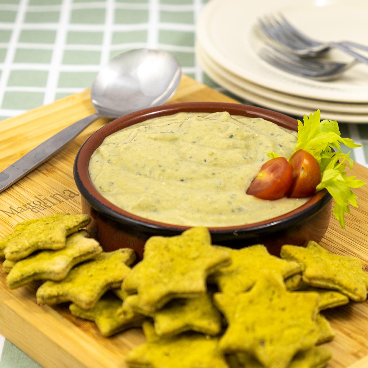 Hummus di fagiolini