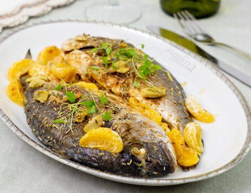 Pesce con mandarini e zenzero, secondo facile e saporito