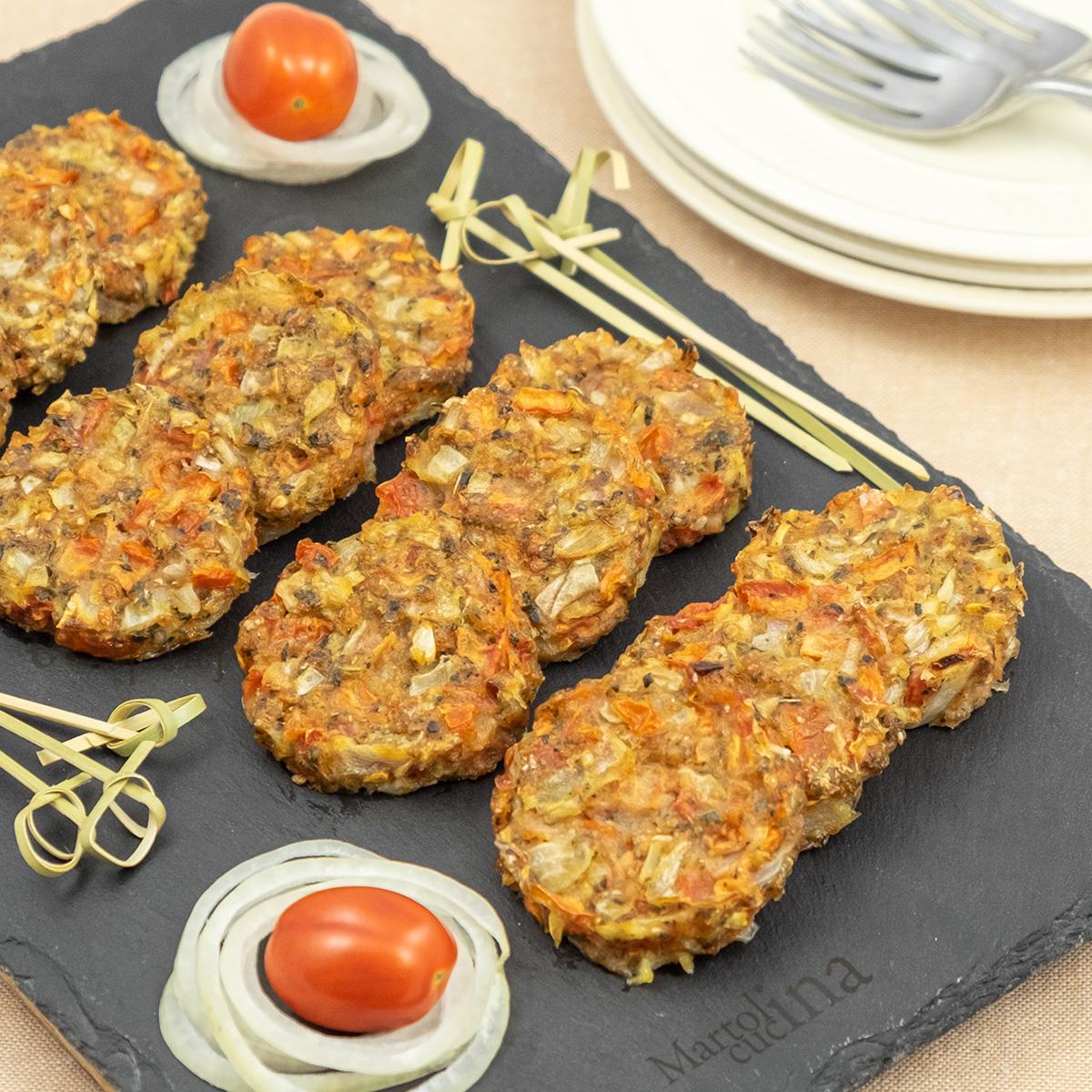 Crocchette di pomodori al forno