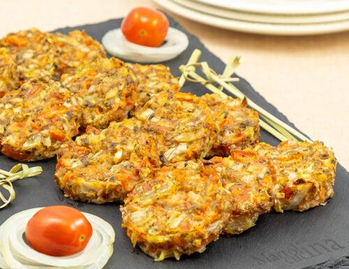 Crocchette di pomodori al forno, senza uova