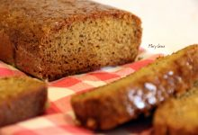 Lemon Poppy Seed Bread, senza uova