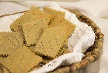 Crakers con farina di riso e di quinoa