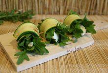 Involtini di zucchine senza nichel