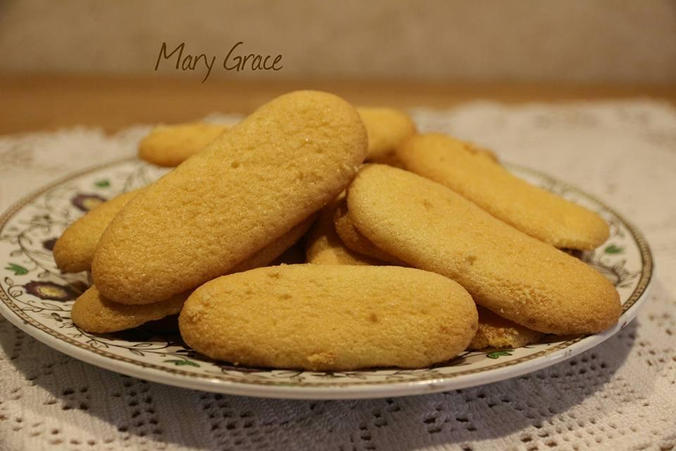Biscotti di riso tipo savoiardi