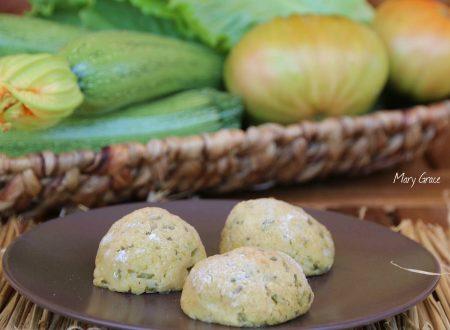 Polpette di zucchine senza uova