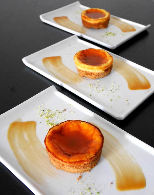 Mini cheesecake al caramello salato - Mastercheffa
