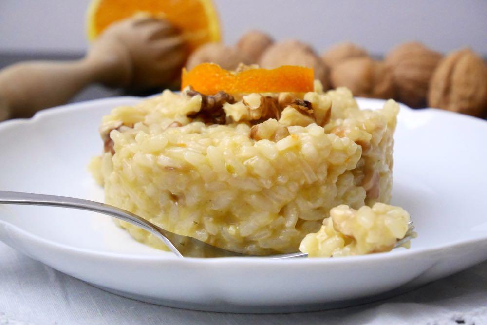 risotto arance e noci