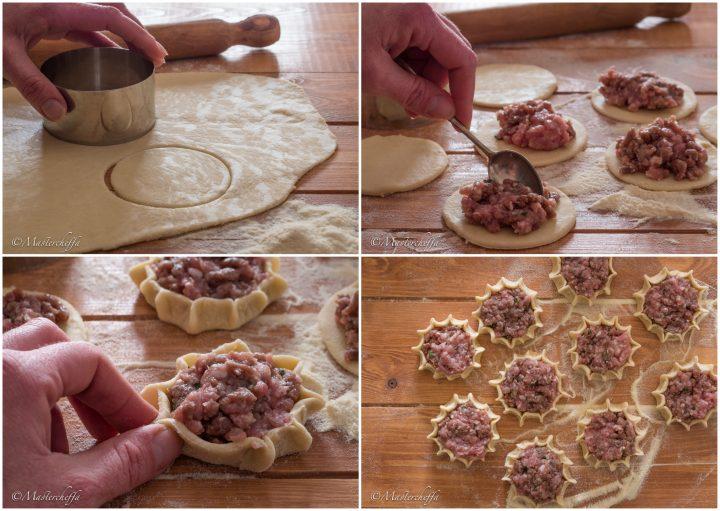 Cassatine di carne