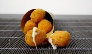 mozzarelline panate e fritte