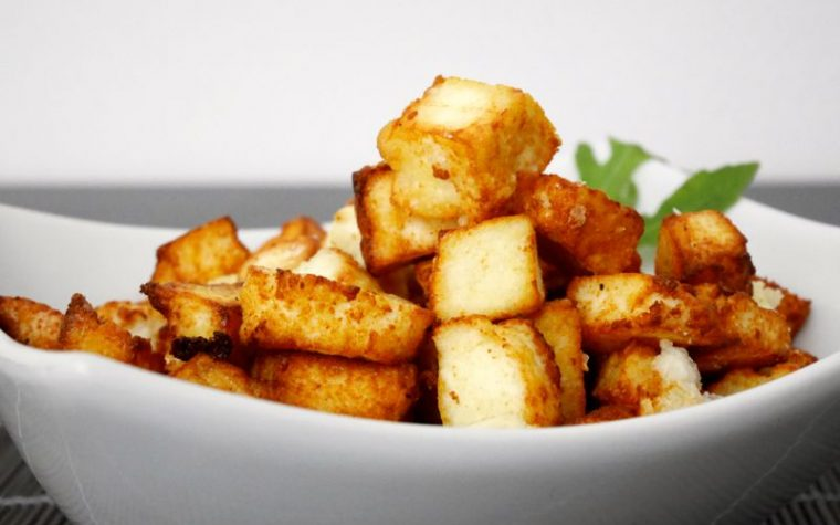 Paneer fritto