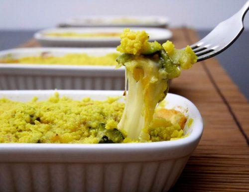 Crumble di zucchine al profumo di curry