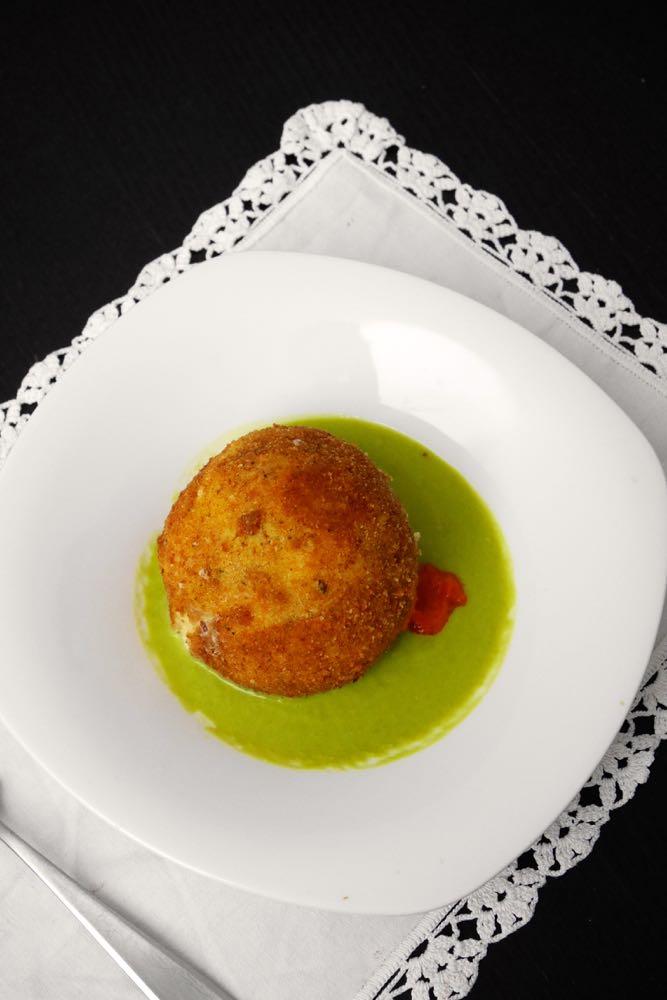 La palla di mozzarella ripiena di Rosanna Marziale