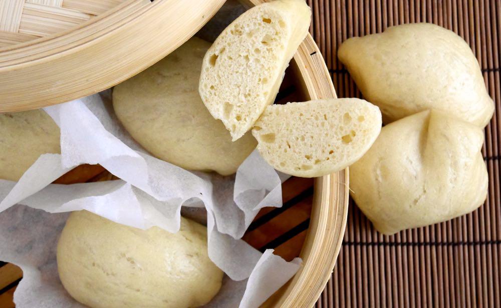 Mantou - panini cinesi al vapore