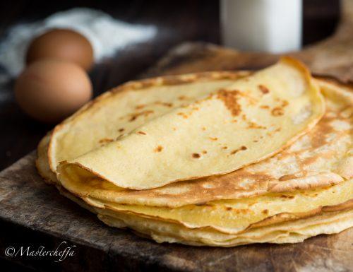 Crêpes (ricetta base per crepes o crespelle)