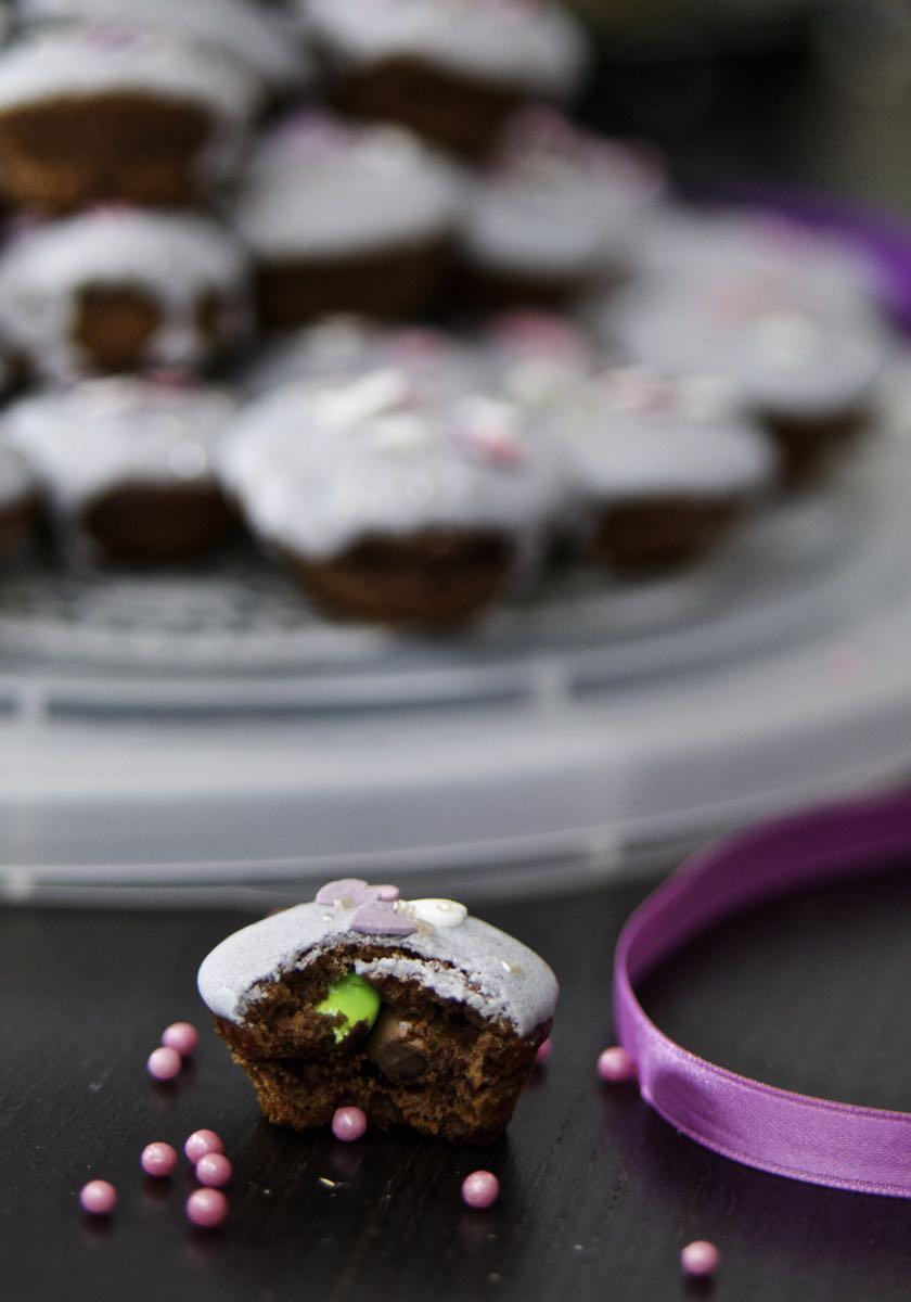 Torta di muffin delle principesse golose