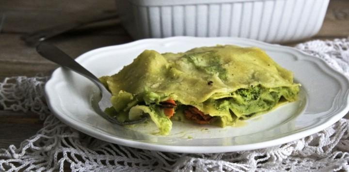 Lasagne cozze e broccoli