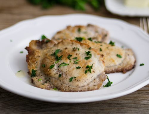 Lonza al burro: e la cena ha un tocco francese!