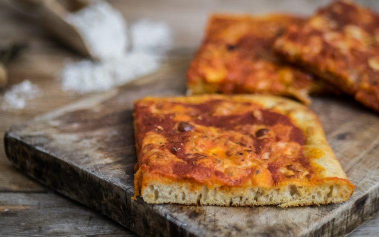 Pizza integrale con metodo Bonci – digeribilissima!