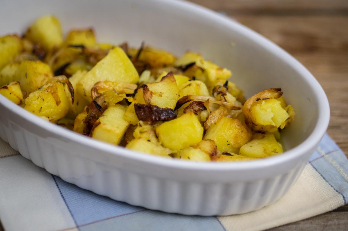 Patate e cipolle al forno mastercheffa for Quando seminare le patate