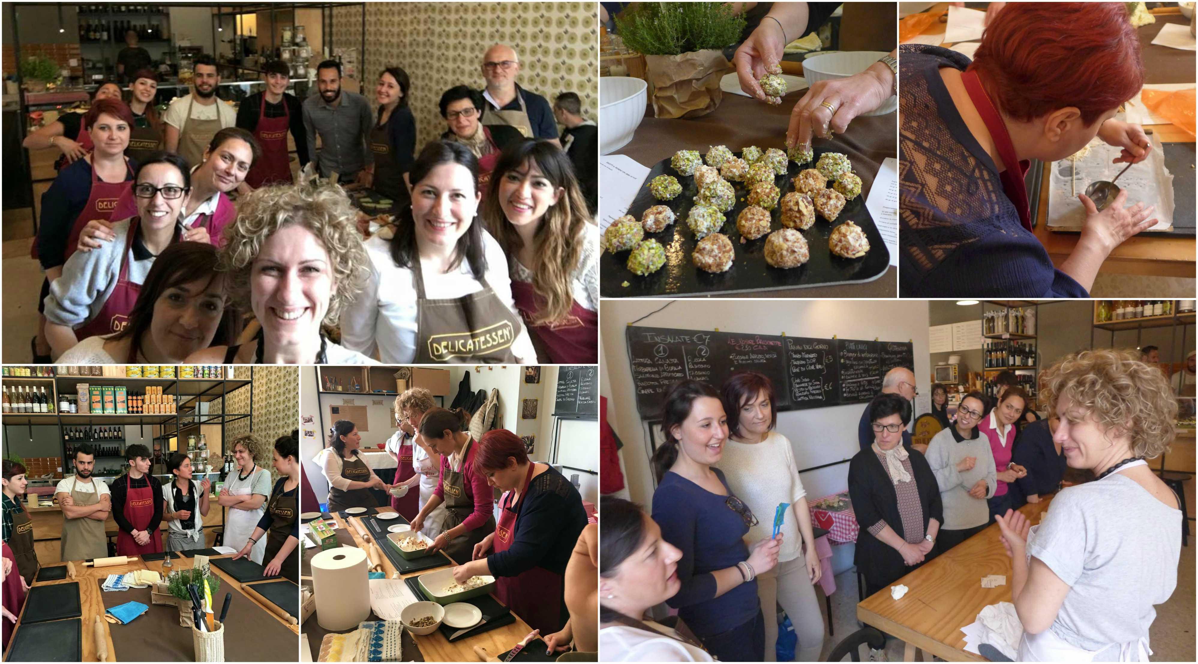 Lezioni di cucina al Delicatessen - E si cresce insieme