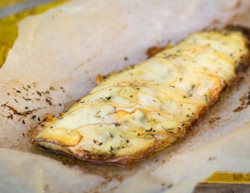 Filetto di spigola in crosta di patate