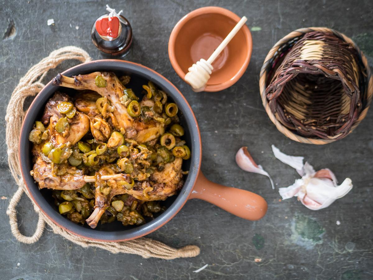 Coniglio alla pattuìsa - un piatto da ambasciatrice