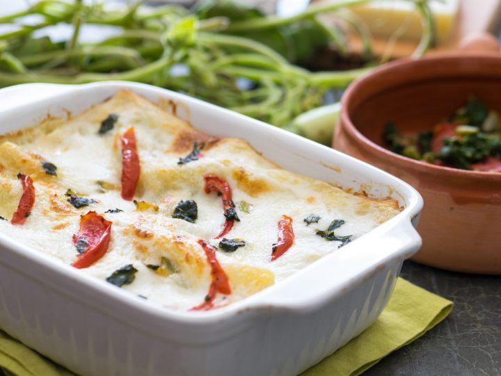 Lasagne tenerumi e cucuzza longa
