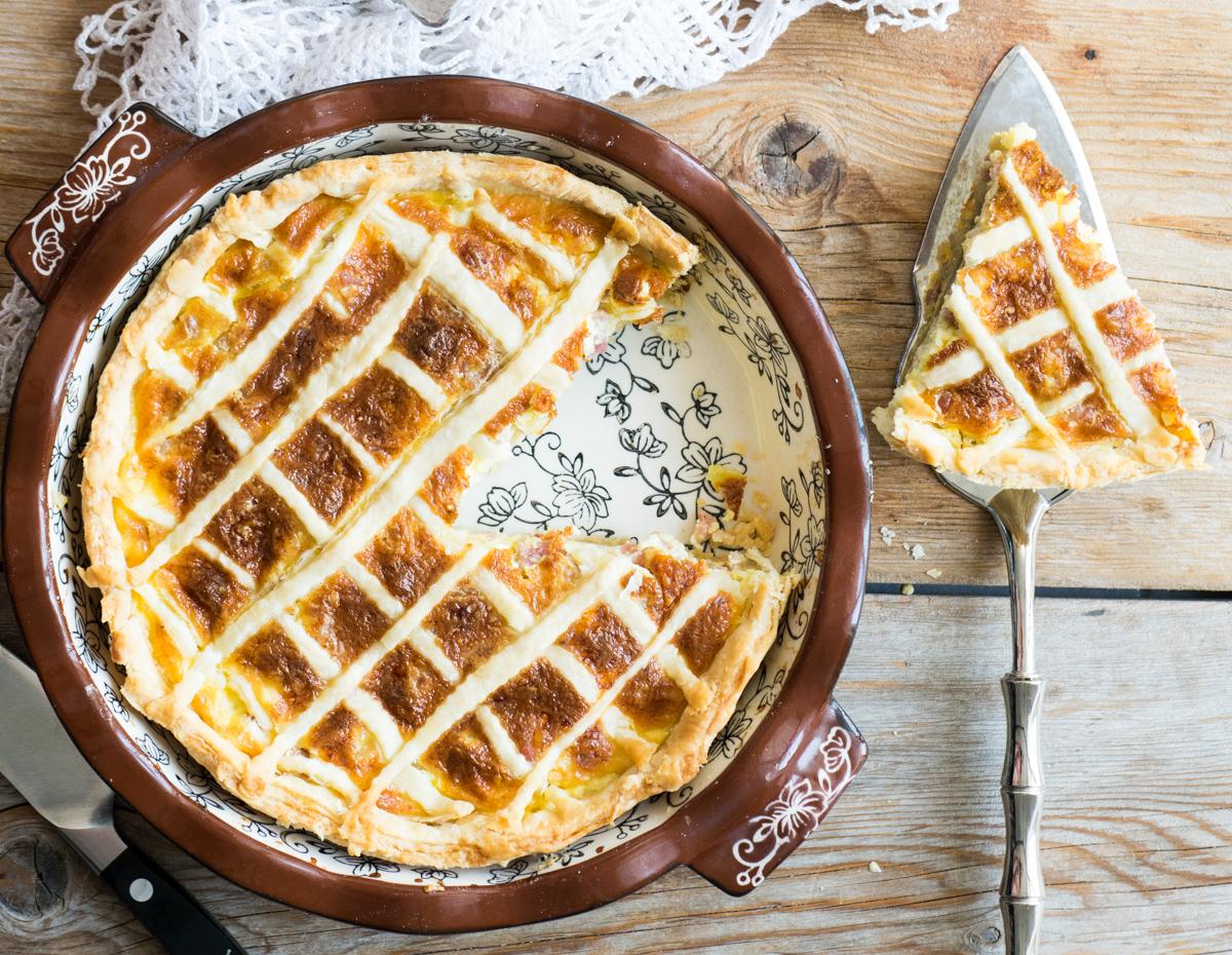 Quiche lorraine - ricetta francese