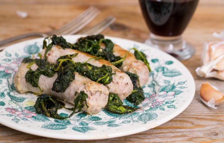 Salsiccia e sanapo – ricetta siciliana