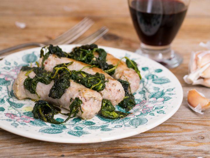 Salsiccia e sanapo - ricetta siciliana