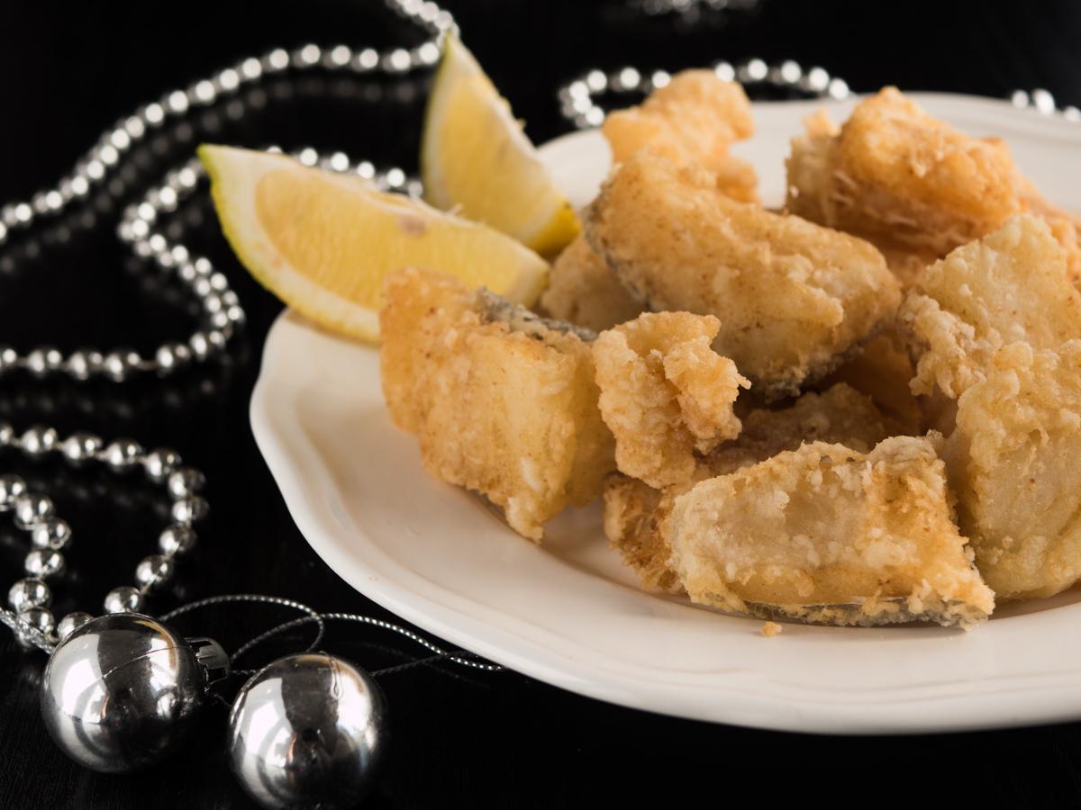 Baccalà fritto - un piatto di buon auspicio